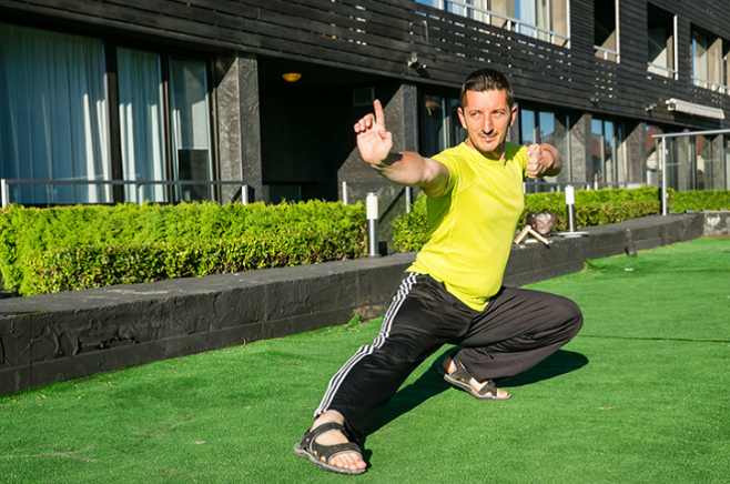 Head of Lucky Fit program Todor Kordev