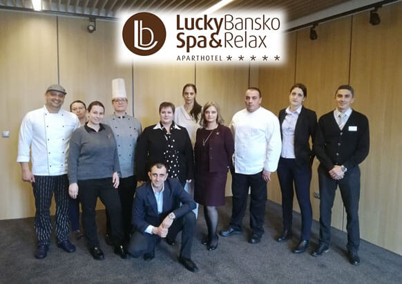 Management team of Apart hotel | Lucky Bansko SPA & Relax