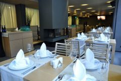 "Lucky Bansko Aparthotel SPA & Relax | View in ""Le Bistro"" restaurant"