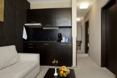 Lucky Bansko | Apartment Lux living room and kitchenette