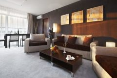 Lucky Bansko Aparthotel SPA & Relax | Photo livingroom apartment Executive