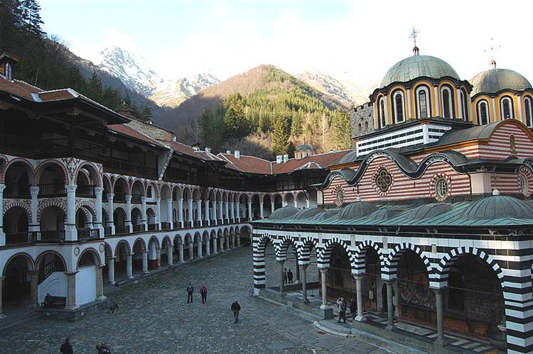 Rila Monastery inside | Lucky Bansko SPA & Relax