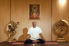 """Yoga pose """"Lotus""""   Lucky Bansko"""