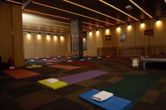 Yoga classes room