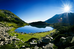 Lake in Pirin mountain