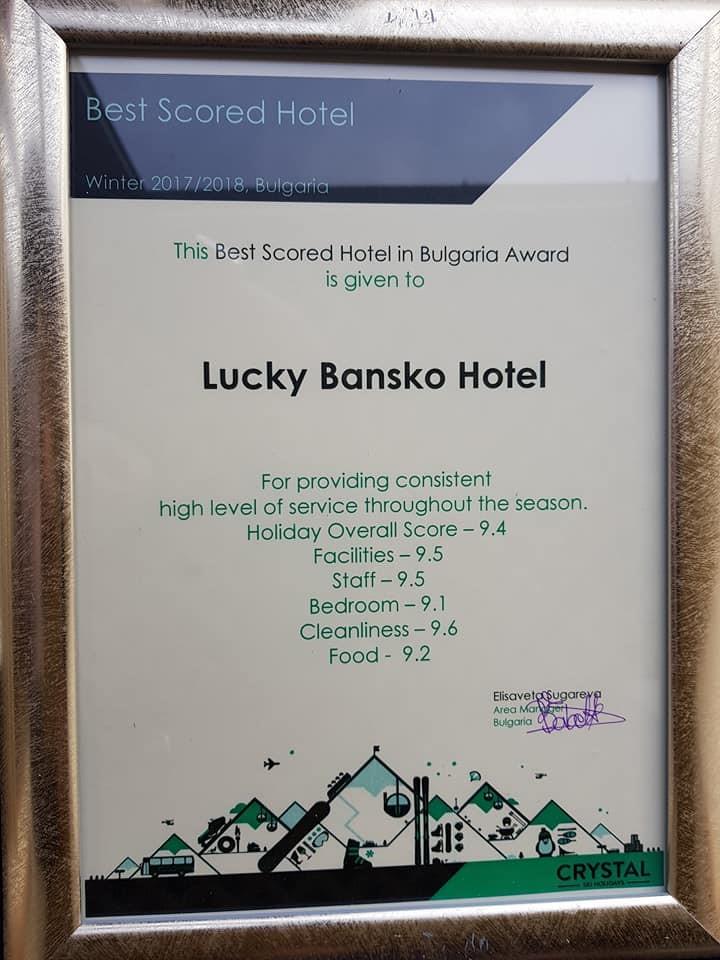 Tui award | Lucky Bansko