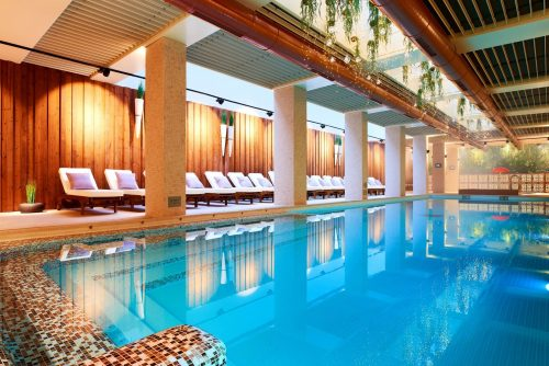Beautiful bio pool in Bansko | Lucky Bansko