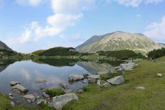 The Muratovo Lake in Pirin mountain