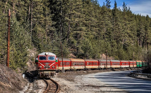A narrow-gauge with the September route - Dobrinishte