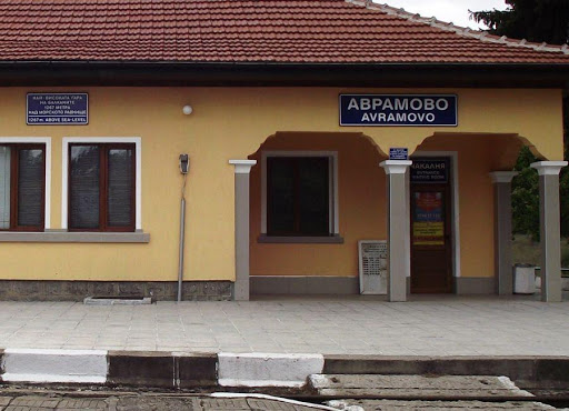 A narrow-gauge next to Avramovo Station