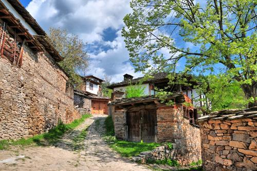 House in Leshten village