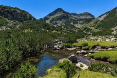 Peaks in the Pirin mountains
