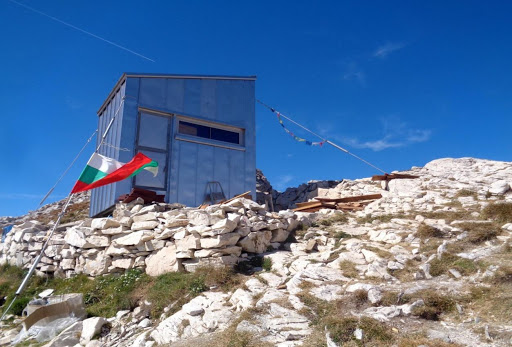 Koncheto shelter in Pirin