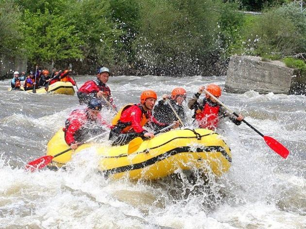 Rafting and kayaking in Bansko