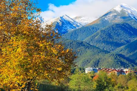 Autumn in Bansko