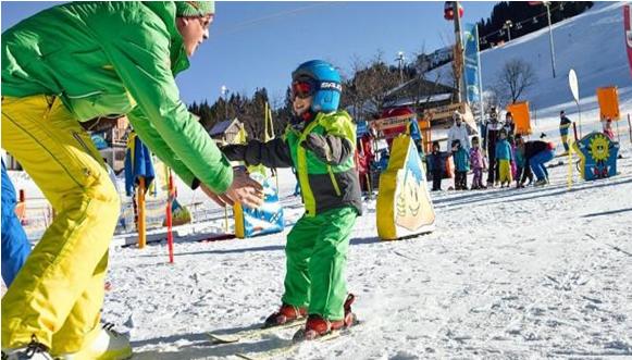 Kids and skiing