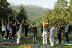 Yoga in the mountain | Lucky Bansko SPA & Relax