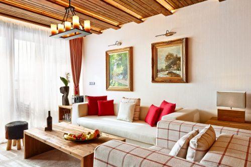 Lucky Bansko Aparthotel SPA & Relax | Livingroom Presidential Apartment