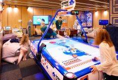 Games hall for children