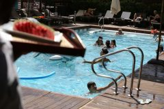 Outdoor swimming pool 11 | Lucky Bansko