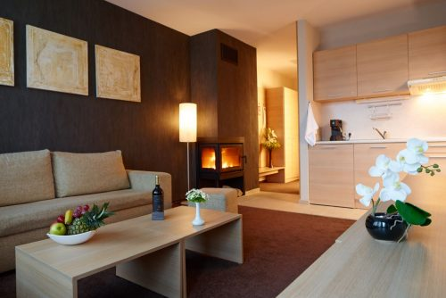 Lucky Bansko Aparthotel SPA & Relax | Photo of Delux livingroom