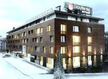 Lucky Bansko Aparthotel SPA & Relax | Winter facade of hotel