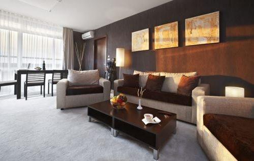 Lucky Bansko Aparthotel SPA & Relax | Photo livingroom apartment Executive