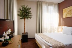 Lucky Bansko Aparthotel SPA & Relax | Bedroom in Lux Studio