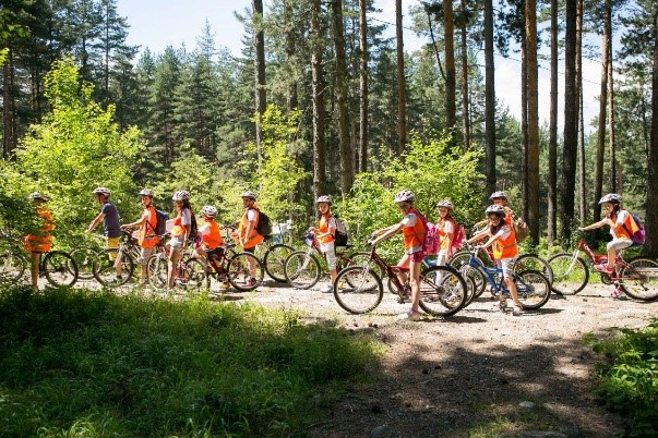 Cycling for children | Lucky Bansko SPA & Relax
