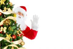 Santa behind the tree | Lucky Bansko SPA & Relax