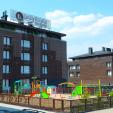 Outside children's playground