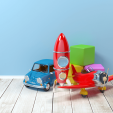 Gift toys for children up to 8 years of age