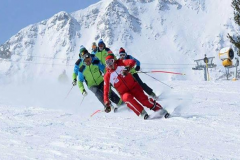 Ski schools in the town of Bansko