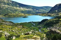 Popovo Lake in the Pirin Mountains