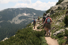 Three scenic paths around Bansko