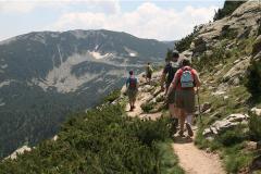 Three scenic paths around Bansko