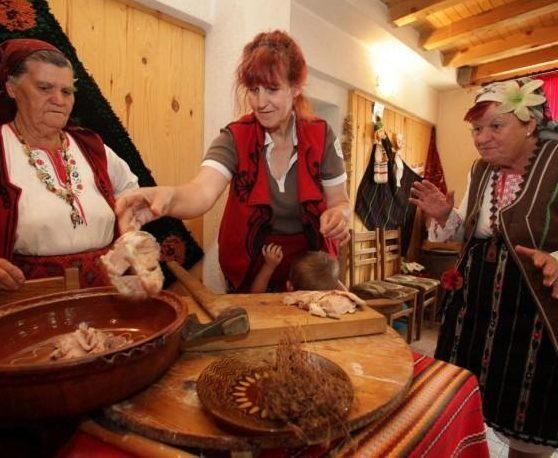 Traditions in the village of Gorno Draglishte